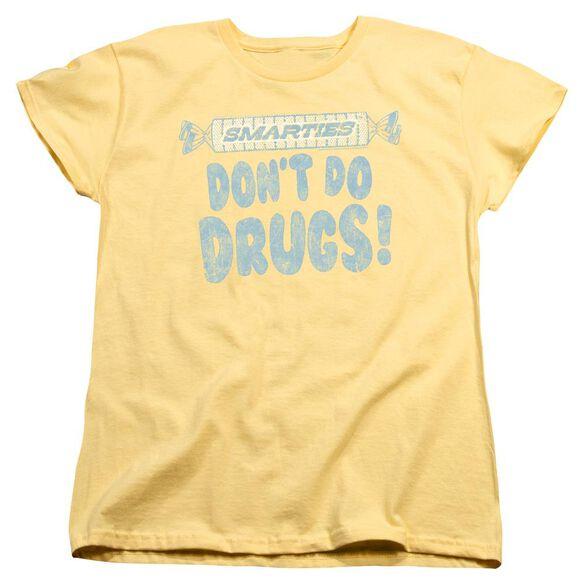 Smarties Be Smart Short Sleeve Womens Tee T-Shirt