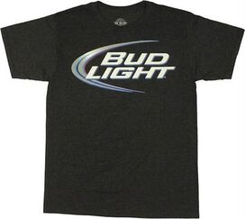 Bud Light Logo T-Shirt Sheer