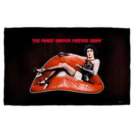 Rocky Horror Picture Show Frank Lips Golf Towel White Face
