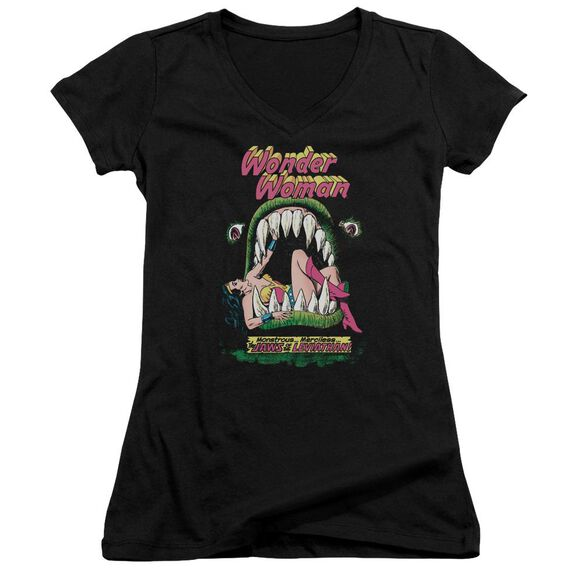 Dc Jaws Junior V Neck T-Shirt