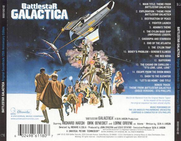 Battlestar Galactica / Tv O.S.T. (Bonus Track)