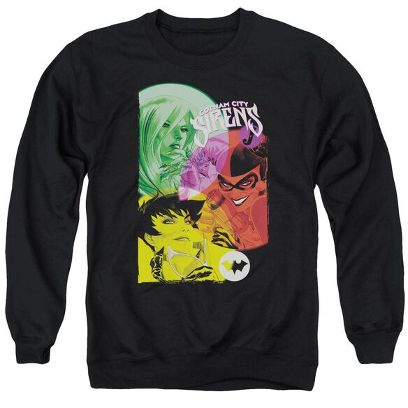 Batman Gotham Sirens Adult Crewneck Sweatshirt