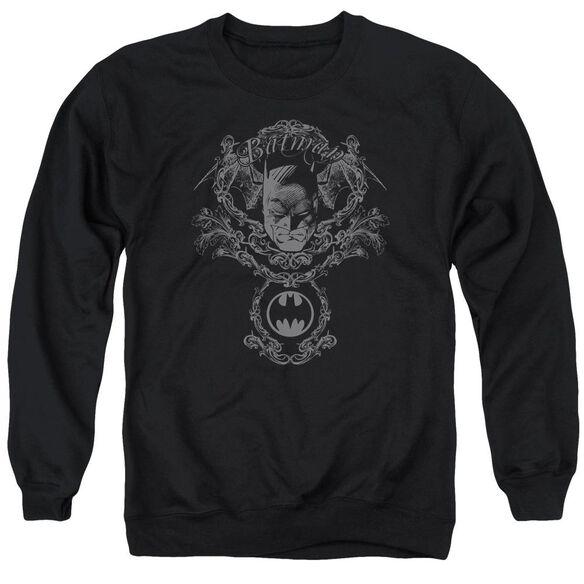 Batman Dark Knight Heraldry Adult Crewneck Sweatshirt
