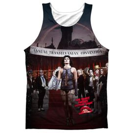 Rocky Horror Picture Show Annual Conventional Strut Adult Poly Tank Top