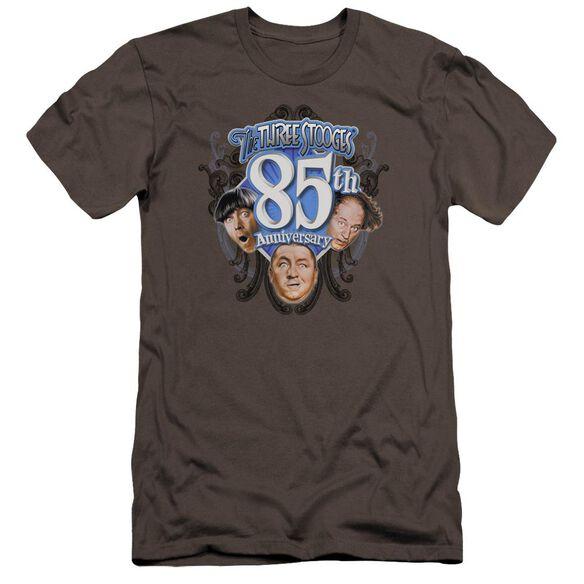 Three Stooges 85 Th Anniversary 2 Premuim Canvas Adult Slim Fit