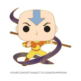 Funko Pop! Pin: Avatar The Last Airbender - Aang (w/chase)