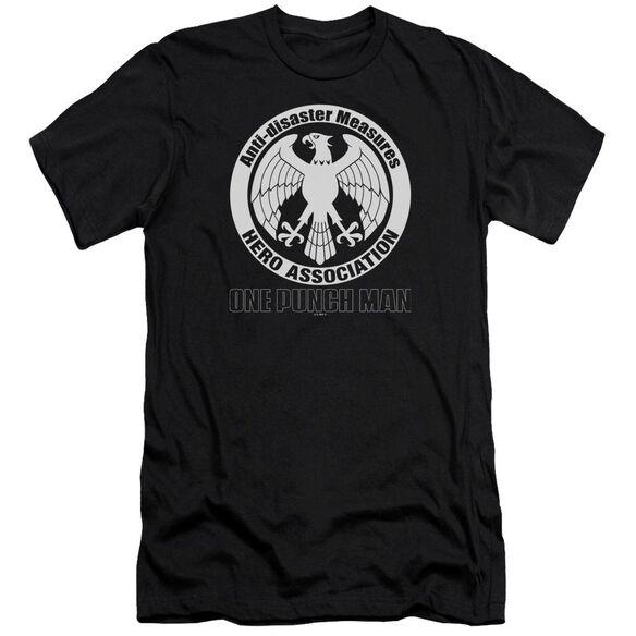One Punch Man Hero Association Logo Hbo Short Sleeve Adult T-Shirt