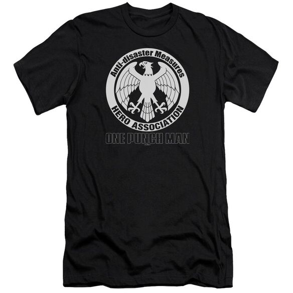 One Punch Man Hero Association Logo Short Sleeve Adult T-Shirt