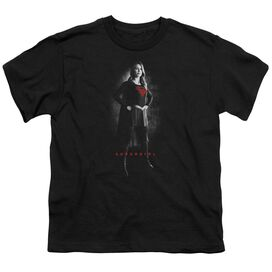 Supergirl Supergirl Noir Short Sleeve Youth T-Shirt
