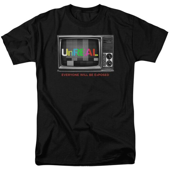 Unreal Static Short Sleeve Adult T-Shirt