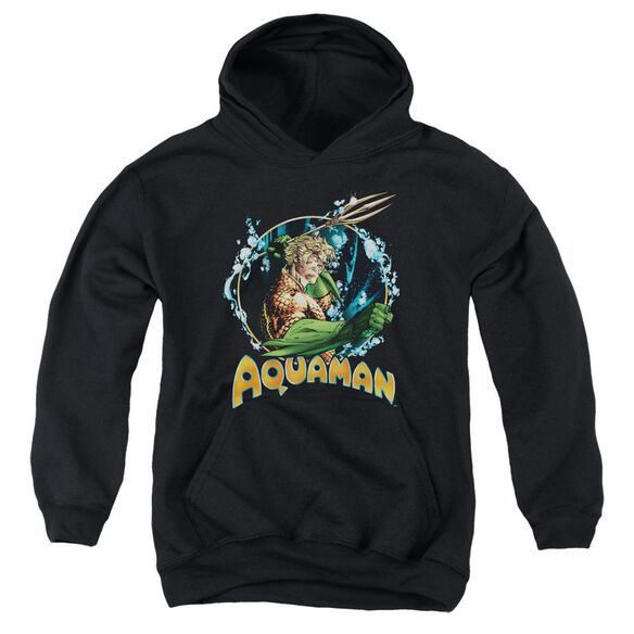 Jla Ruler Of The Seas Youth Pull Over Hoodie