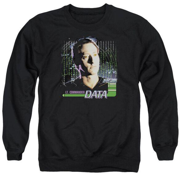 Star Trek Data Adult Crewneck Sweatshirt
