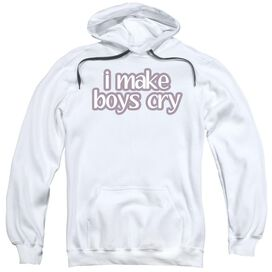 I Make Boys Cry Adult Pull Over Hoodie