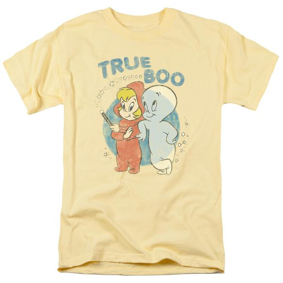 Casper True Boo Short Sleeve Adult Banana T-Shirt