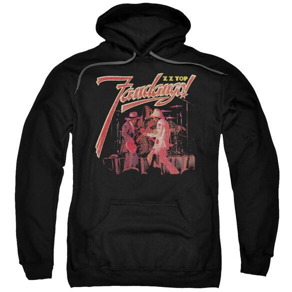 Zz Top Fandango Adult Pull Over Hoodie Black