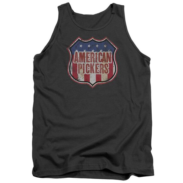American Pickers Vintage Sign Adult Tank