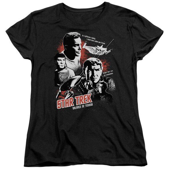 Star Trek Balance Of Terror Short Sleeve Women's Tee T-Shirt