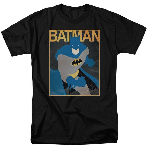 Batman Simple Bm Poster Short Sleeve Adult T-Shirt