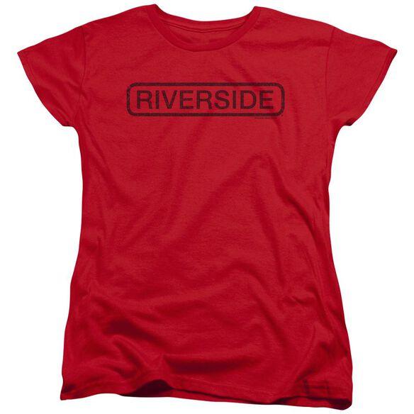 Riverside Riverside Vintage Short Sleeve Womens Tee T-Shirt