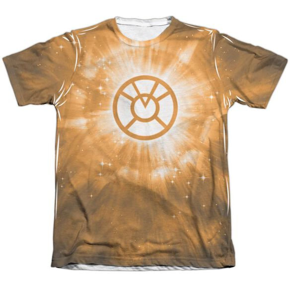 Green Lantern Orange Energy Adult 65 35 Poly Cotton Short Sleeve Tee T-Shirt