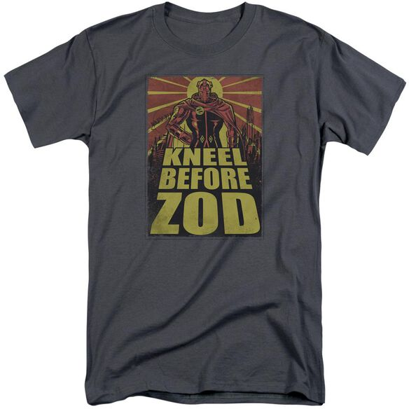 Superman Zod Poster Short Sleeve Adult Tall T-Shirt