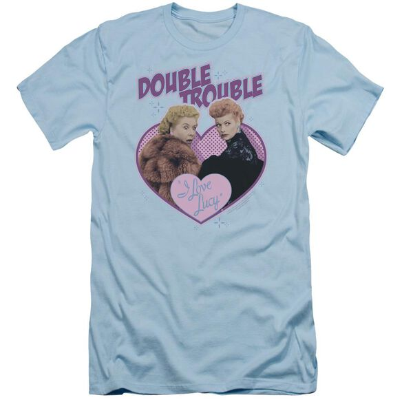 I Love Lucy Double Trouble Short Sleeve Adult Light T-Shirt