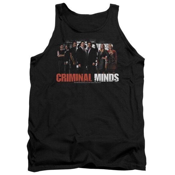 Criminal Minds The Brain Trust - Adult Tank - Black