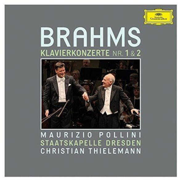 Brahms/ Pollini/ Thielemann/ Staatskapelle - Piano Concertos Nos 1 & 2