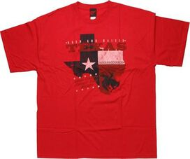 Flag Texas Born and Raised T-Shirt