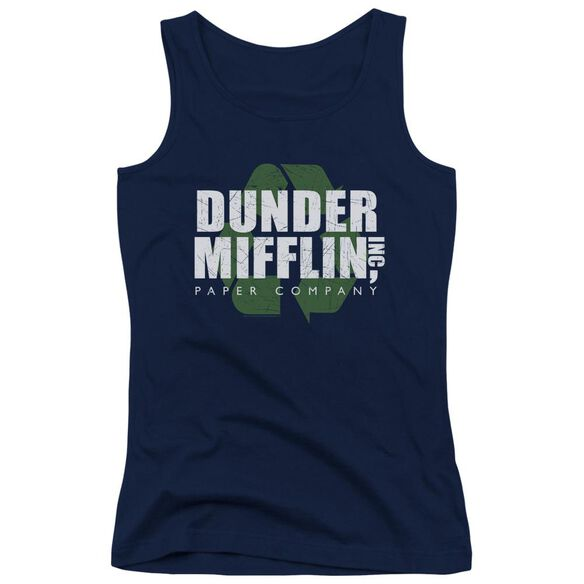 The Office Recycle Mifflin Juniors Tank Top