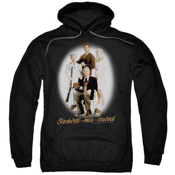 Beverly Hillbillies Sophistimacated Adult Pull Over Hoodie Black