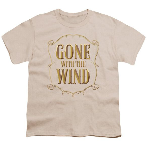 Gone With The Wind Logo Short Sleeve Youth T-Shirt