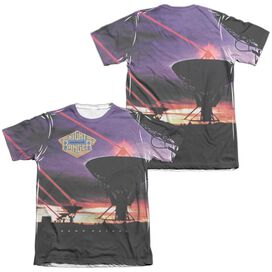 Night Ranger Dawn Patrol (Front Back Print) Adult Poly Cotton Short Sleeve Tee T-Shirt