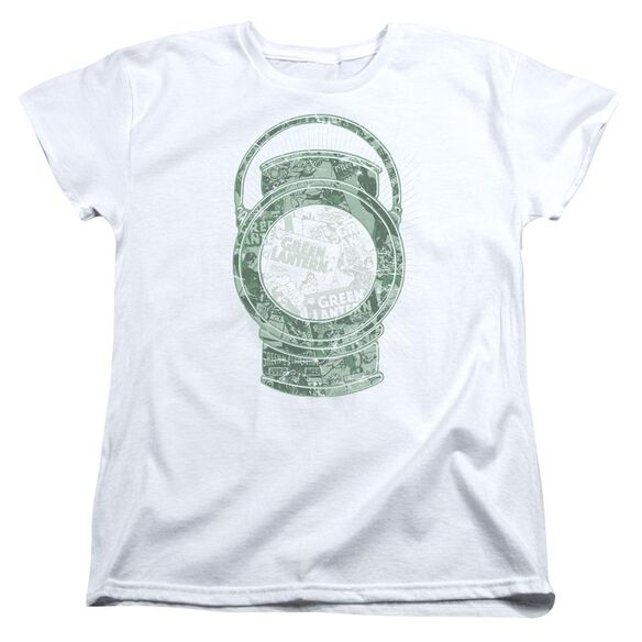 Dc Lantern Cover Short Sleeve Womens Tee T-Shirt