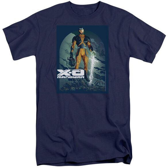 Xo Manowar Planet Death Short Sleeve Adult Tall T-Shirt