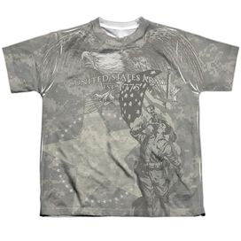 Army Countrys Call Short Sleeve Youth Poly Crew T-Shirt