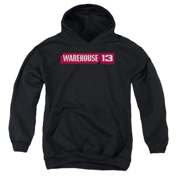 Warehouse 13 Logo Youth Pull Over Hoodie