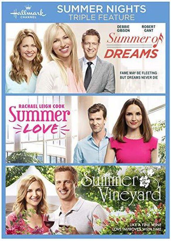 Summer Nights Triple Feature (Summer of Dreams / Summer Love / Summer in the Vineyard)