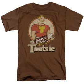 Tootsie Roll Captain Tootsie Short Sleeve Adult T-Shirt