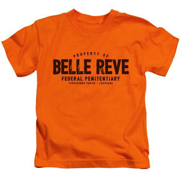 Batman Belle Reve Short Sleeve Juvenile Orange T-Shirt
