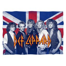 Def Leppard The Boys (Front Back Print) Pillow Case