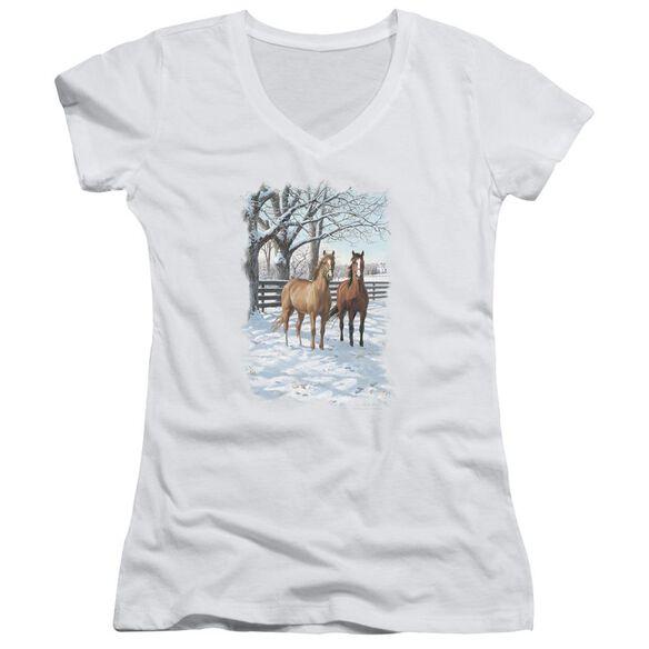 Wildlife Coffee And Chocolate Junior V Neck T-Shirt