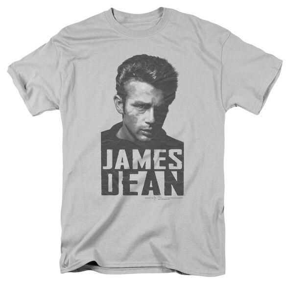 Dean Dean Lines Short Sleeve Adult Silver T-Shirt