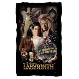 Labyrinth Only Forever Fleece Blanket