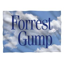 Forrest Gump Feather Pillow Case White