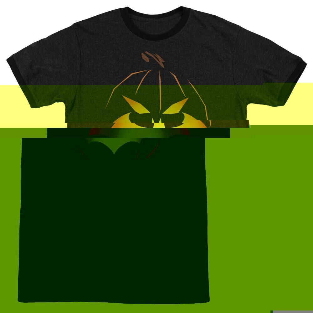 Jack OBat Adult Ringer T Batman Shirt L