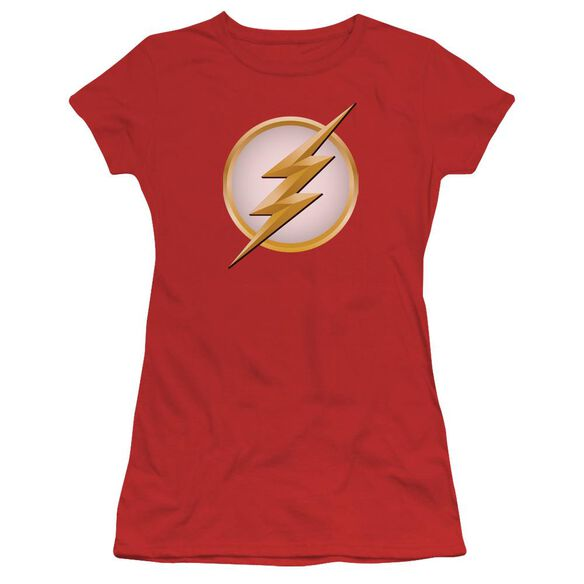 Flash New Logo Short Sleeve Junior Sheer T-Shirt