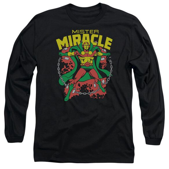 Dc Mr Miracle Long Sleeve Adult T-Shirt
