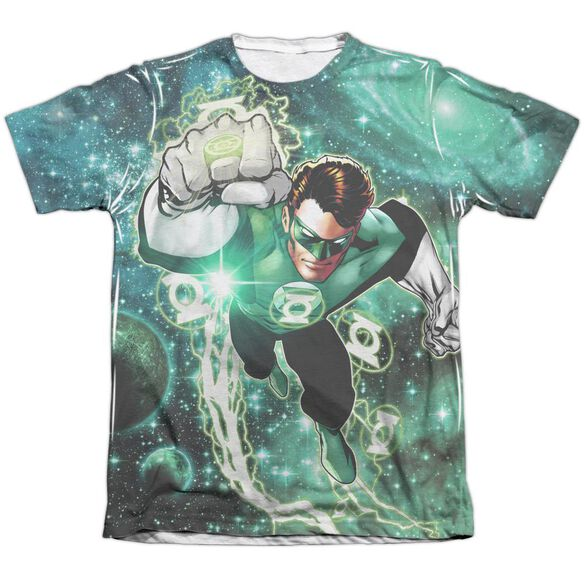 Green Lantern Galactic Hal Adult Poly Cotton Short Sleeve Tee T-Shirt