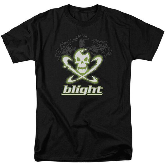 Batman Beyond Blight Short Sleeve Adult Black T-Shirt
